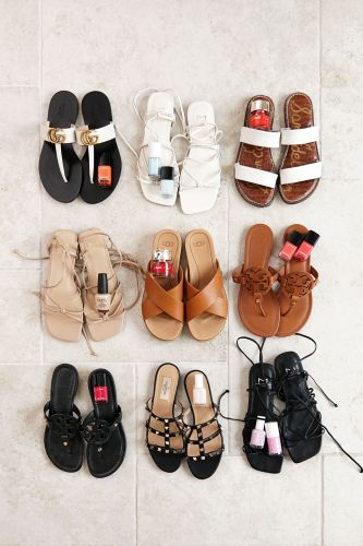 Favorite Summer Sandals + Polish Combinations