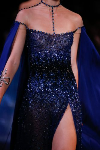 Georges Hobeika AW 18-19 couture collection Details