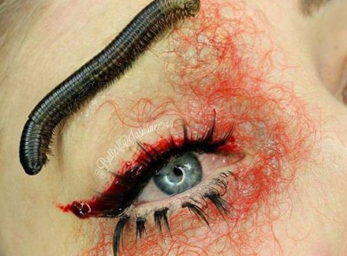 This makeup artist uses real bugs to create her looks and we're freaking out