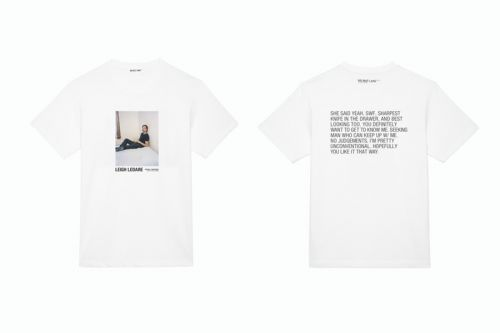 Helmut Lang Taps Leigh Ledare For Latest Artist Series Collection