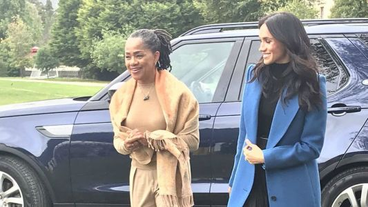 Meghan Markle Wore a Thing: Blue Smythe Coat Edition