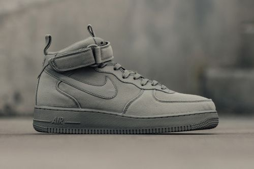 "Nike's Air Force 1 Mid Is Now Available In ""Dark Stucco"""