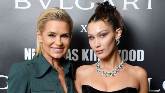 Bella Hadid's Mom Yolanda Is 'So Happy' She's Back With The Weeknd And We Definitely Agree