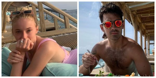 Sophie Turner and Joe Jonas Share Dreamy Photos From Their Maldives Honeymoon: 'I Found Happiness'