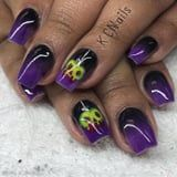 Complete Your Disney Villain Costume With These On-Point Nail Art Ideas