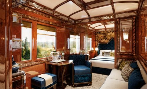 High Glamour on the Orient Express