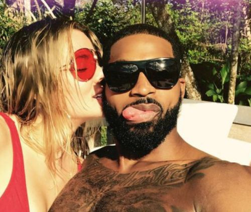 Khloé Kardashian and Tristan Thompson Look Madly in Love During Vacay With Kendall Jenner and Ben Simmons