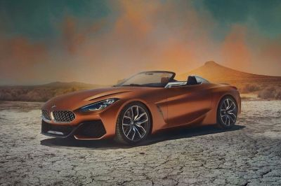 BMW Z4 Concept Photos Leak and It's Better Than Expected