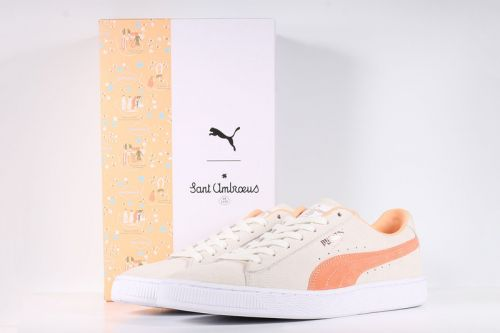 "Sant Ambroeus & PUMA Connect for a ""Friends & Family"" Suede Model"