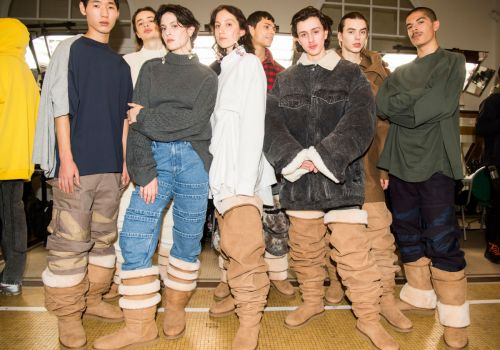 Hey, Quick Question: Would You Wear Slouchy, Thigh-High Uggs?