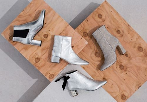 If You Don't Own Silver Boots, You're Doing Fall Wrong