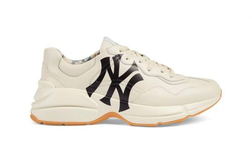 Gucci Pays Homage to the New York Yankees in Latest Rhyton Sneakers