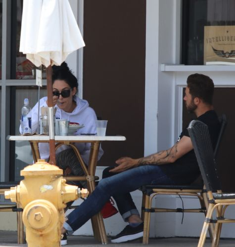 Nikki Bella and Boyfriend Artem Chigvintsev Look Cozy Eating Breakfast in L.A. - See the Sweet Photos!