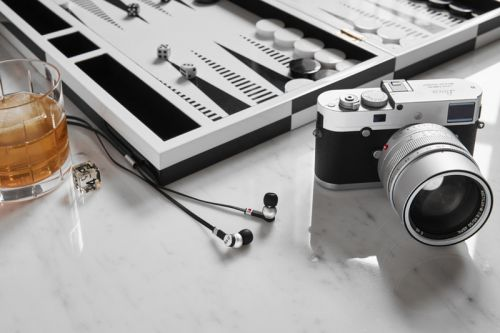 "Leica x Master & Dynamic Are Back With a Silver ""0.95"" Collection"