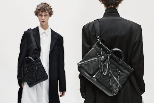Yohji Yamamoto Splashes Chains and Zippers Across PORTER's Signature Bags