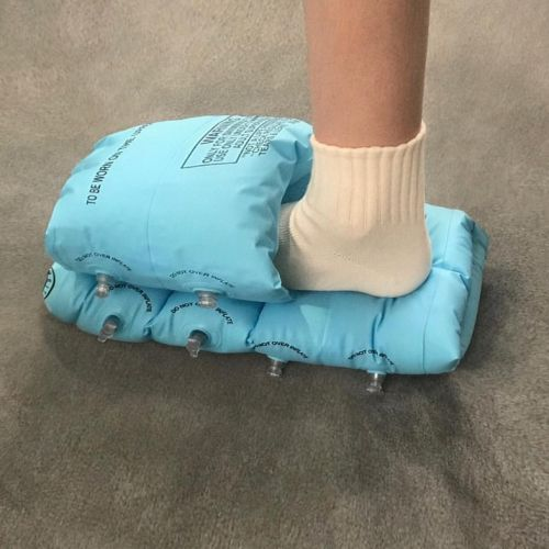 The designer turning mundane items into wildly unconventional footwear