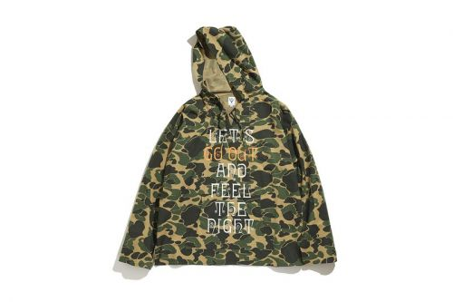 South2 West8 and 'GO OUT' Magazine Deliver Camo-Clad Parka Capsule