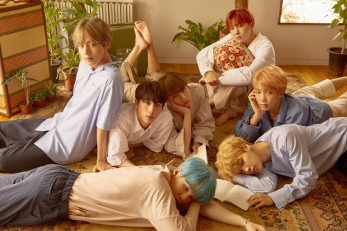 BTS are the first K-Pop band to be nominated for a Grammy