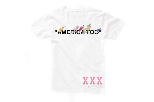 "Virgil Abloh & Takashi Murakami's ""AMERICA TOO"" Exhibit Unveils a Set of Exclusive T-Shirts"
