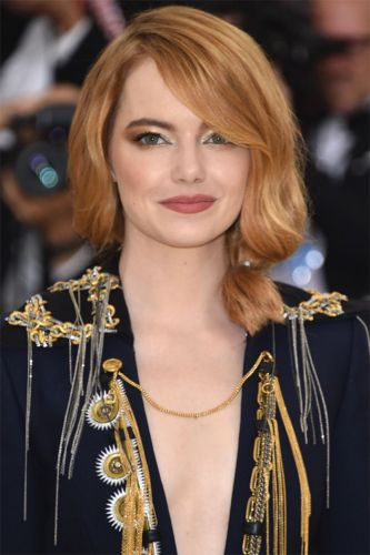 How to Get the Look: Emma Stone and Henry Golding's Classic Sophistication