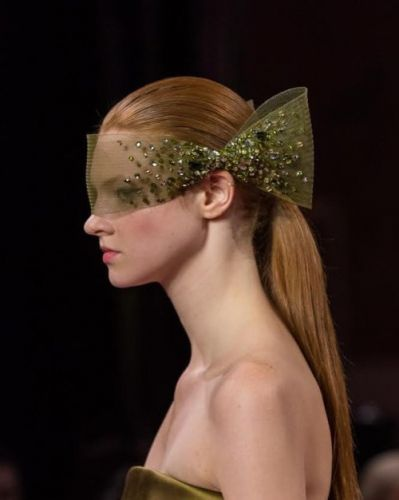 Handcrafted Masks | Georges HOBEIKA Haute Couture FW19/20