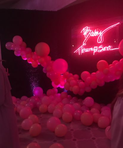 Khloé Kardashian's Baby Shower Was OTT & Here Are the Pics to Prove It