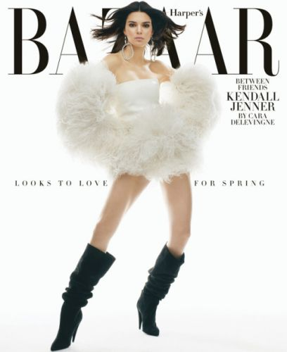 Kendall Jenner Is BAZAAR's February Cover Star!Read her full