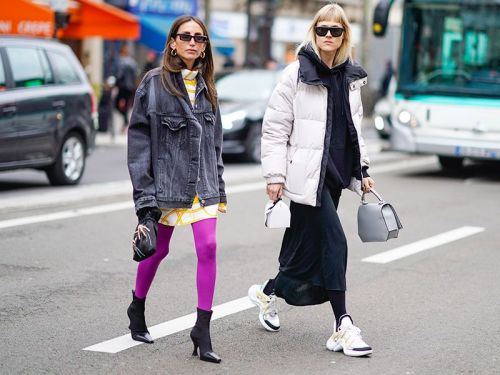 Fashion Girls Keep Wearing the Shoes You Hate With Leggings