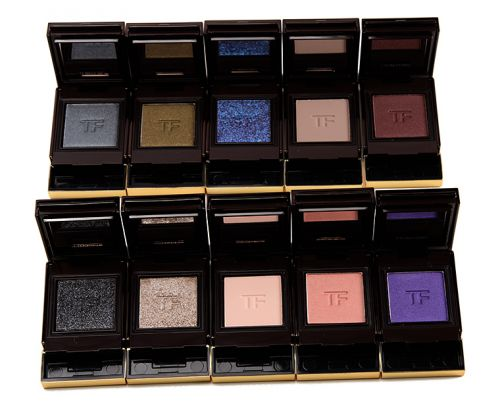 Swatches: Tom Ford Private Shadows & Extreme Shadows