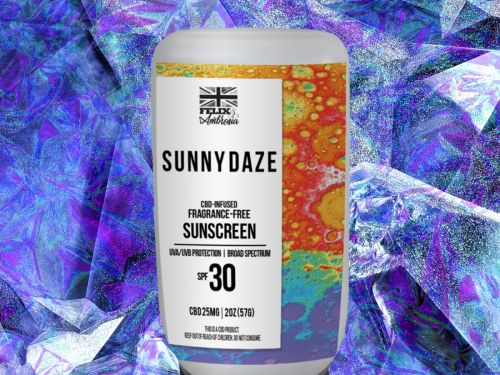 The Only Thing Better Than Glitter Sunscreen Is Glitter Weed Sunscreen