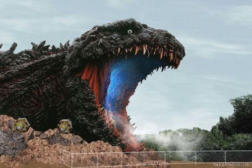 Japan's Life-Sized Godzilla Statue Is Starting to Take Shape