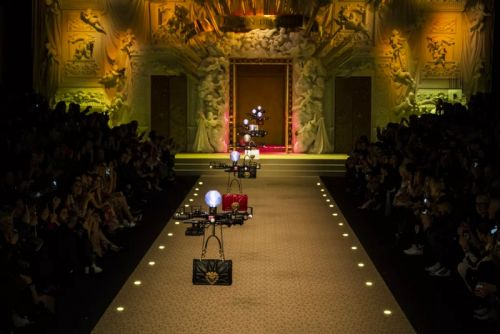 Dolce & Gabbana's Drone Models Don Purses