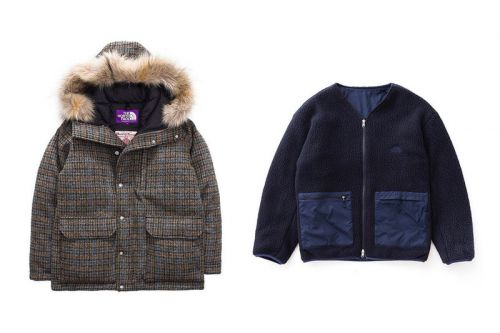 THE NORTH FACE PURPLE LABEL Adds Harris Tweed Parkas to Its Winter Lineup