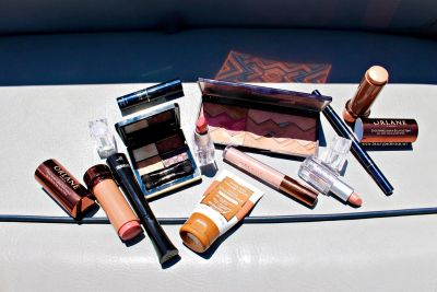 Beauty on a Boat: A Lakeside Look + the New Becca Lush Lip Color Balm