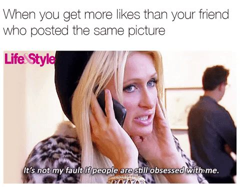 These Paris Hilton Memes Are So Hot, They're Huge