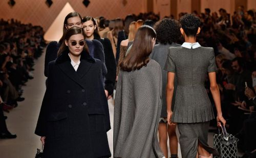 Fendi's strong, romantic women rule the catwalk in Milan