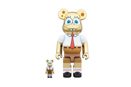 Medicom Toy Revamps 'Spongebob Squarepants' in Gold Chrome for Latest BE RBRICK
