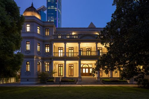 Prada Unveil The Restored Rong Zhai Villa In Shanghai