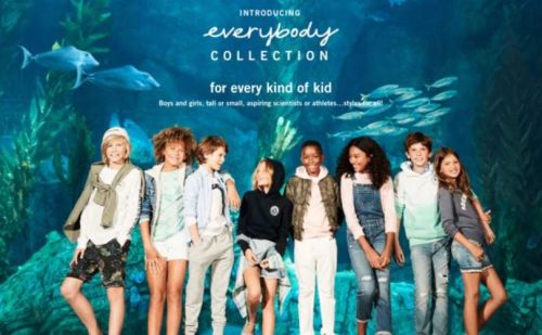 In pictures: Abercrombie's new gender neutral collection for kids