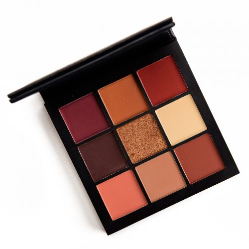 Huda Beauty Warm Browns Obsessions Eyeshadow Palette Review, Photos, Swatches