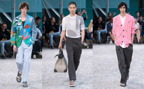 In pictures: Hermès brings summery nonchalance to PFWM