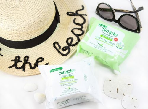 Travel Beauty Essential: Simple Cleansing Wipes