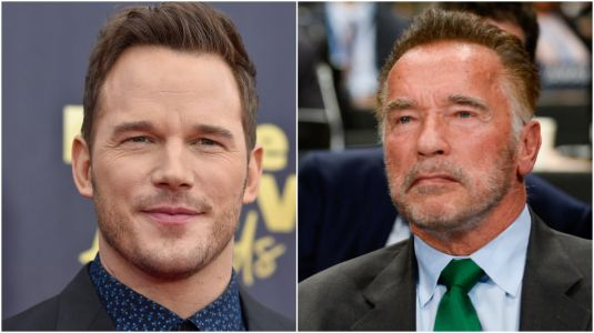 Arnold Schwarzenegger Had The Cutest Moment With Chris Pratt 3 Years Before Engagement To Katherine