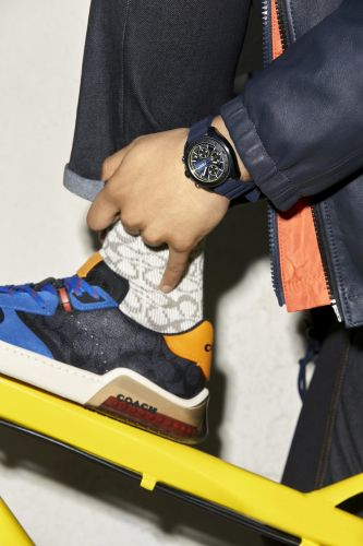 Coach Launches Timepiece Collection Featuring Quincy Brown