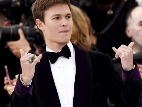 Ansel Elgort's Favorite Scents Are Secrets & Baked Chicken
