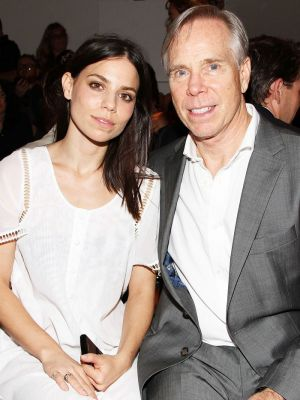 Tommy Hilfiger's Daughter Got Married in a Sheer Cape