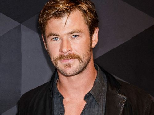 Chris Hemsworth's New Facial Hair Is. Surprising