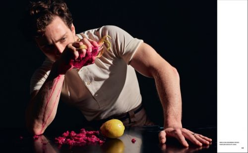 Aaron Taylor-Johnson Goes Surreal for Icon Cover Shoot