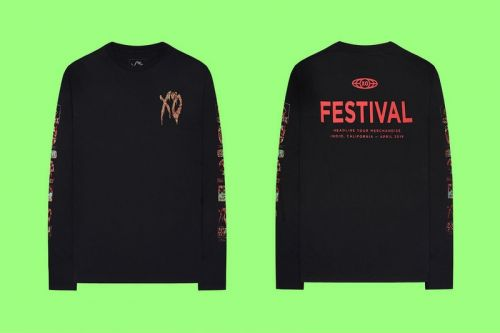 The Weeknd Releases Limited Edition Festival Merch