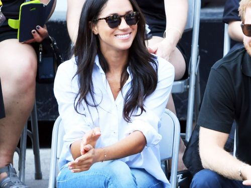 Thanks To Meghan Markle, These Jeans Had A 400-Person Waitlist